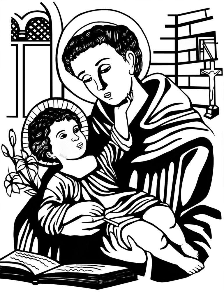 imagenes de san antonio de padua para colorear pin de gisele vieira duarte em artesanato santo antônio de antonio de colorear para padua imagenes san