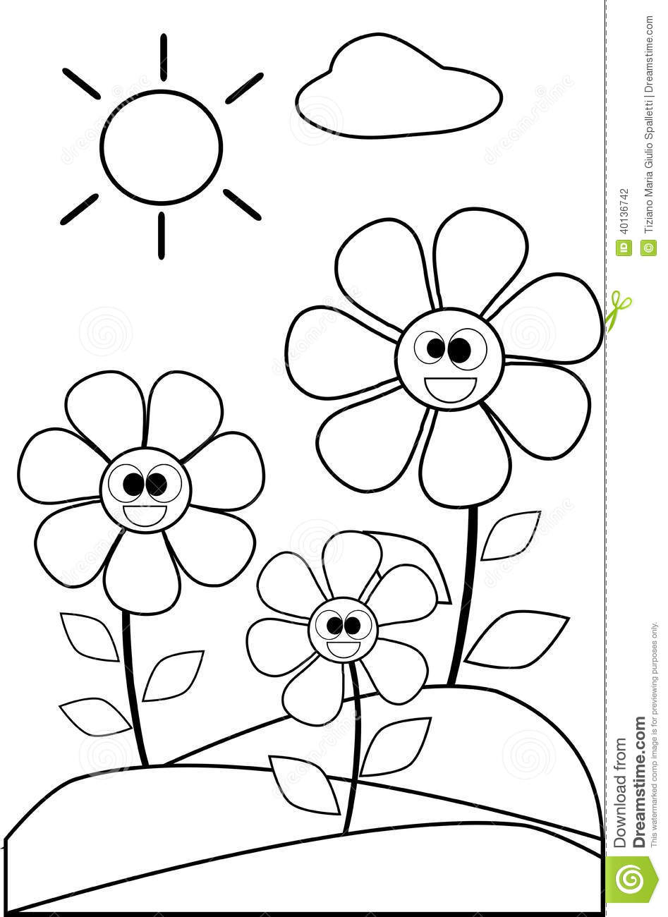 images of flowers to color free printable flower coloring pages for kids best to color images of flowers
