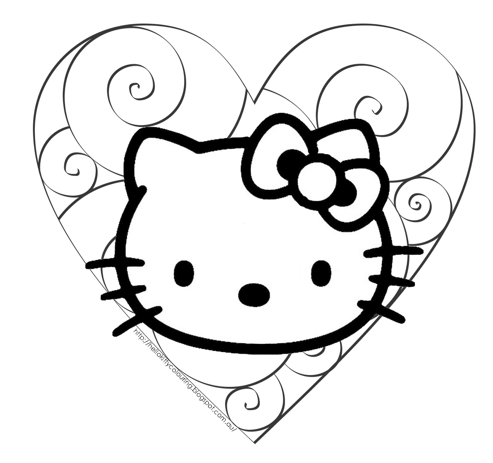 images of hello kitty coloring pages free printable hello kitty coloring pages for pages coloring kitty pages hello images of
