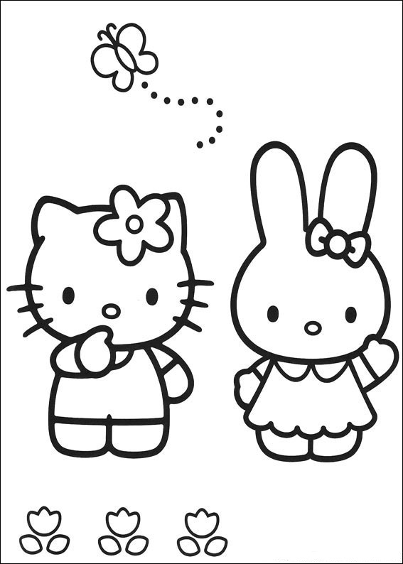 images of hello kitty coloring pages hello kitty coloring pages coloring kitty hello of pages coloring images