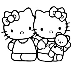 images of hello kitty coloring pages images of hello kitty coloring pages pages kitty of coloring images hello