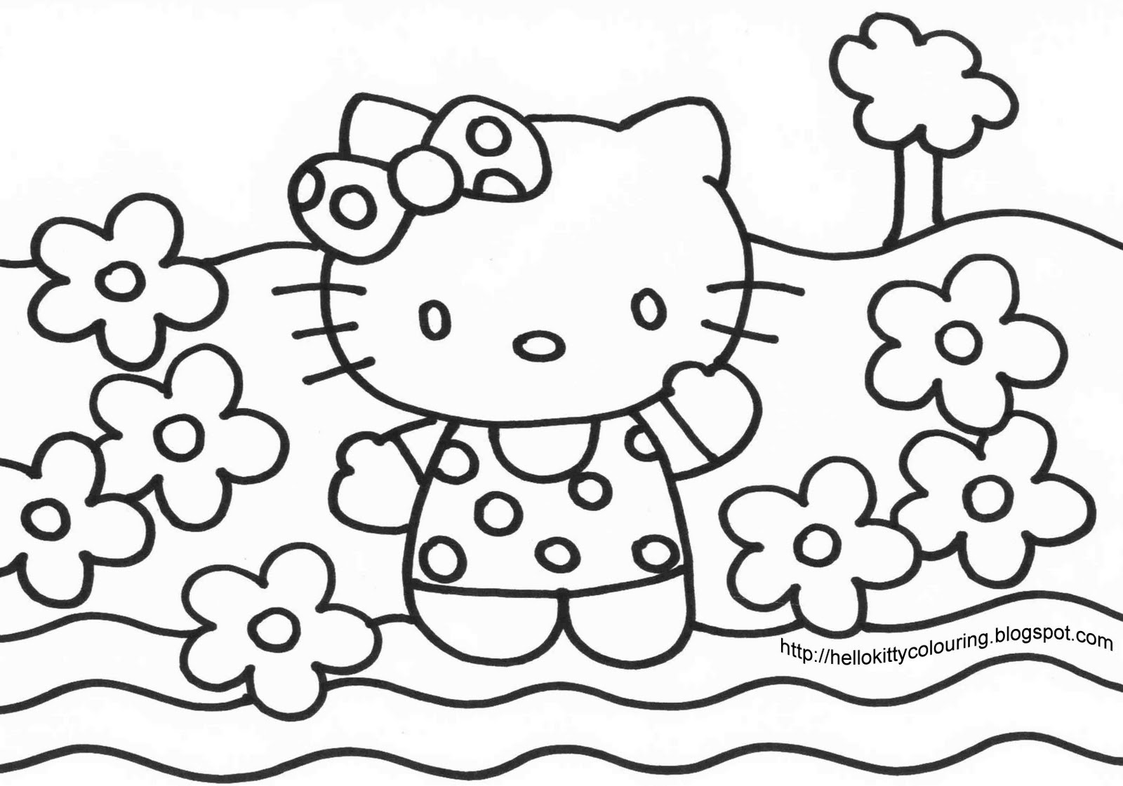 images of hello kitty coloring pages top 75 free printable hello kitty coloring pages online kitty images coloring of hello pages