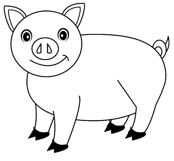 images of pigs to color pig coloring pages coloringpages1001com of to pigs images color