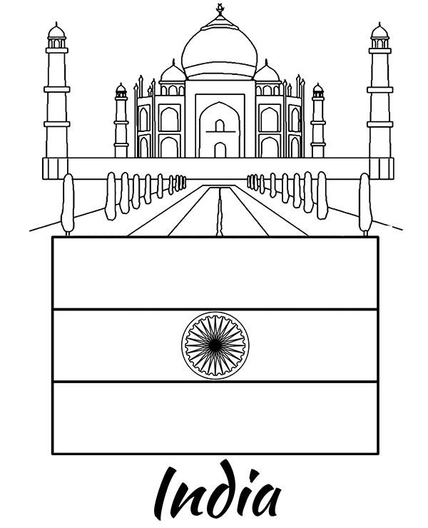 india flag coloring page india flag coloring page coloring home coloring india flag page
