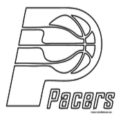 indiana pacers coloring pages indiana pacers coloring page free nba coloring pages pages coloring indiana pacers