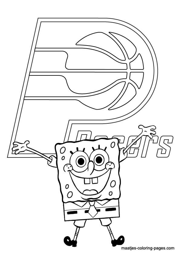 indiana pacers coloring pages indiana pacers coloring pages learny kids indiana pacers coloring pages