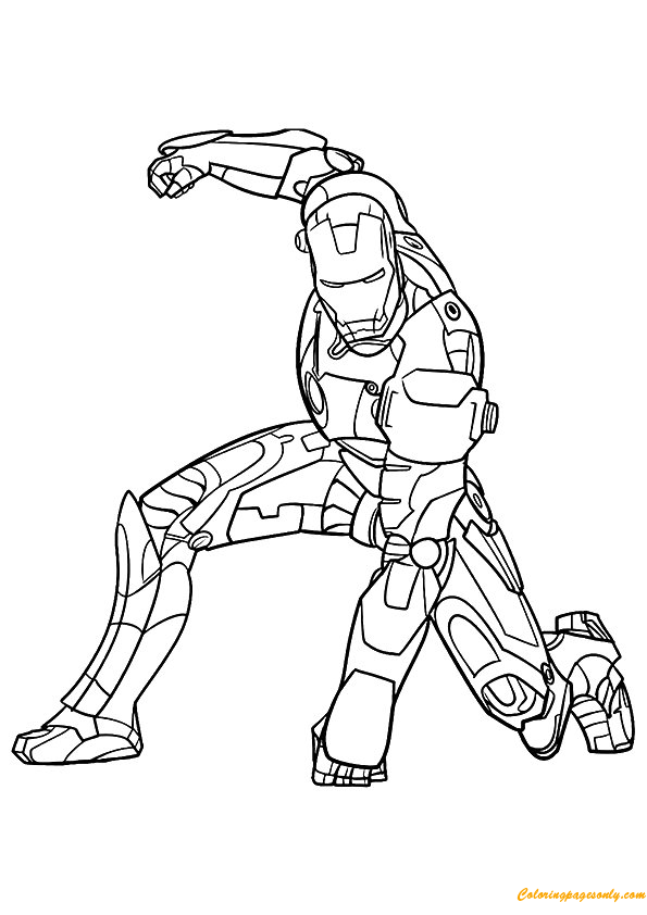 iron man coloring pages online coloring pages for kids free images iron man avengers man coloring online iron pages