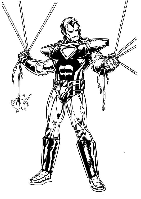 iron man coloring pages online iron man ready ultimate weapon coloring page coloring coloring pages iron man online