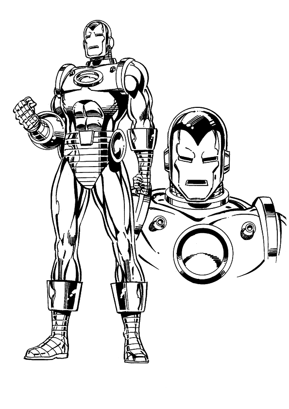 ironman coloring page iron man coloring pages free printable coloring pages ironman coloring page 1 1