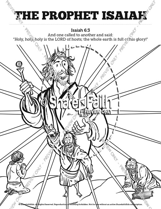 isaiah coloring pages free printable isaiah coloring page coloring isaiah pages