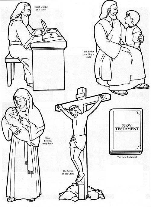 isaiah coloring pages isaiah prophesies of the savior friend isaiah coloring pages