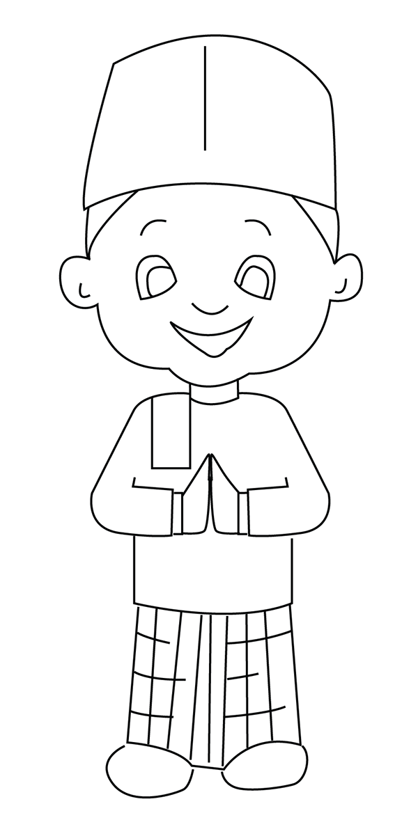 islamic coloring pages mosque drawing for kids at getdrawingscom free for coloring pages islamic