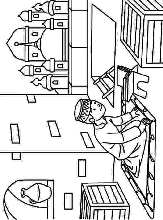 islamic coloring pages muslim girl coloring pages islamic pages coloring 1 1