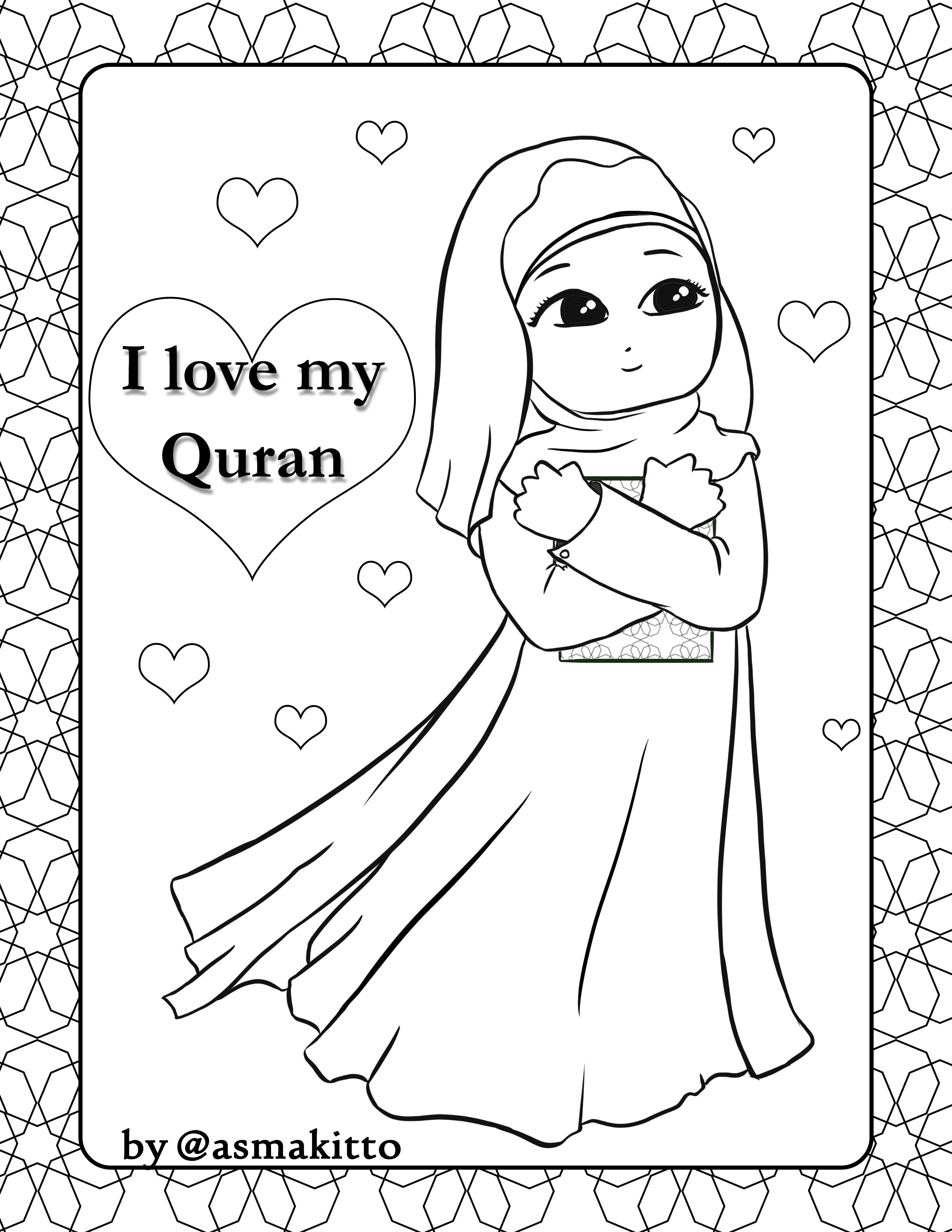 islamic coloring pages new muslim kids coloring pages for free 7 islamic coloring pages