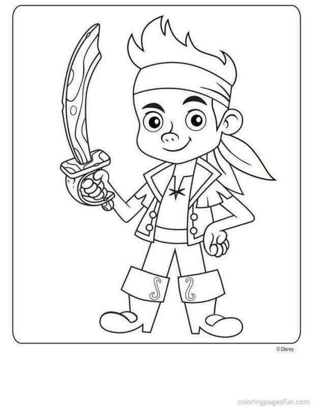 jake and the neverland pirates cartoon jake and the never land pirates coloring picture disney and neverland cartoon pirates the jake