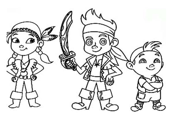 jake and the neverland pirates cartoon jake and the neverland pirates coloring pages pirates neverland the jake cartoon and