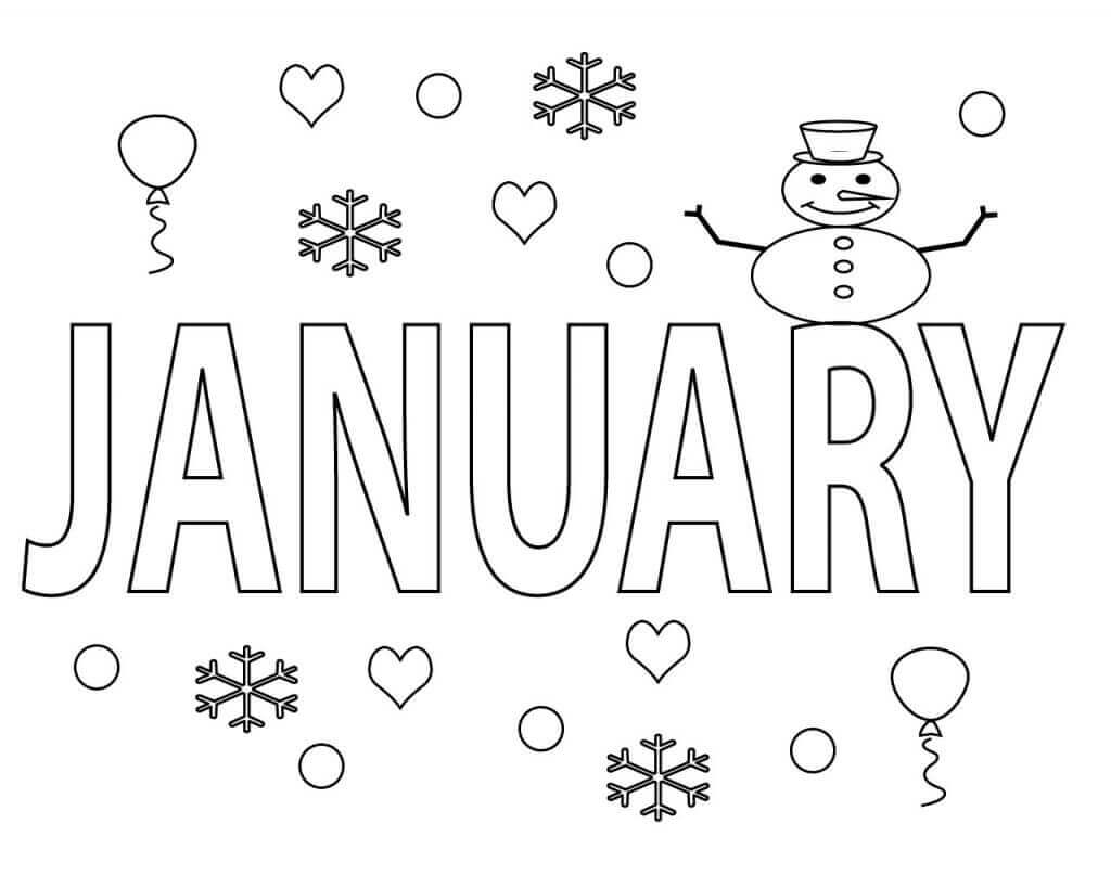 january coloring pages free january coloring pages printable coloring january pages