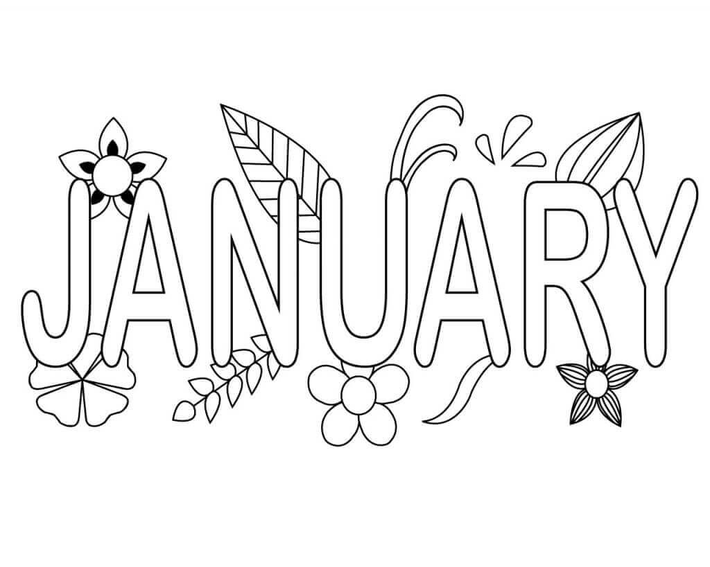 january coloring pages free january coloring pages printable january coloring pages