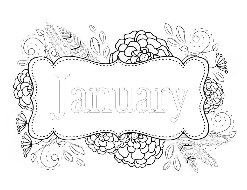 january coloring pages hello january coloring page twisty noodle coloring pages january