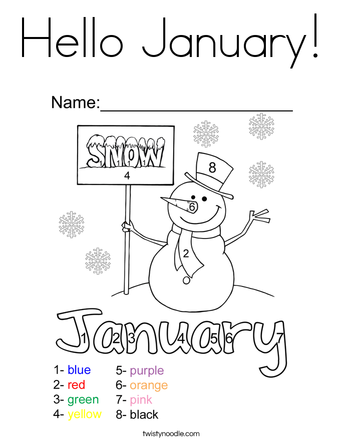 january coloring pages peppy in january coloring page free printable coloring pages coloring pages january
