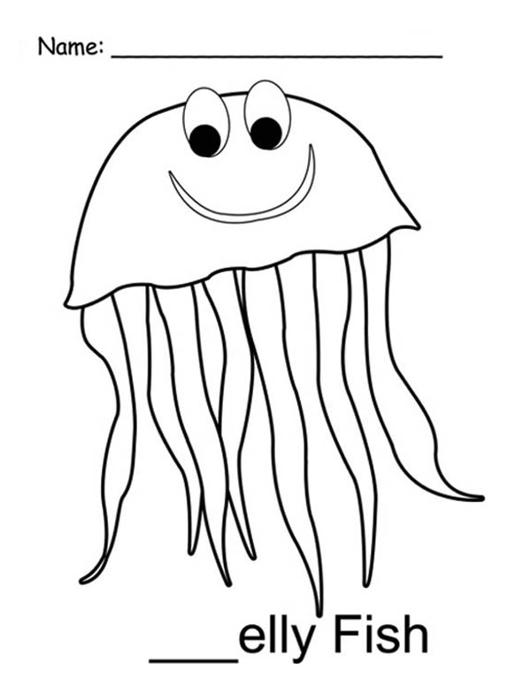 jelly fish coloring page jellyfish coloring pages getcoloringpagescom coloring jelly fish page