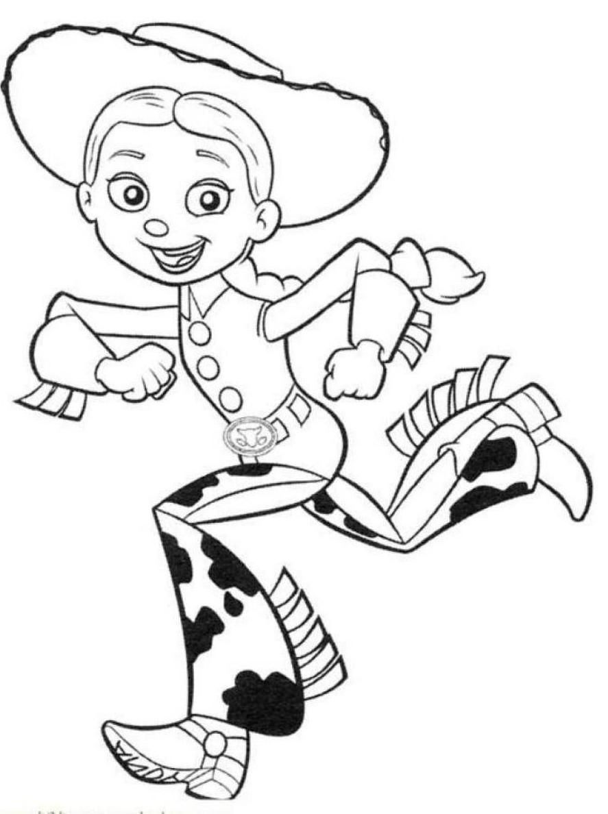 jessie coloring page free printable toy story coloring pages for kids jessie page coloring