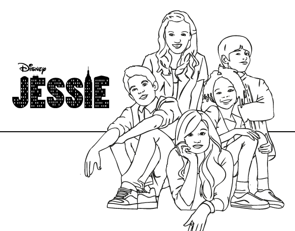 jessie colouring pages disney channel jessie coloring pages to print sketch colouring jessie pages