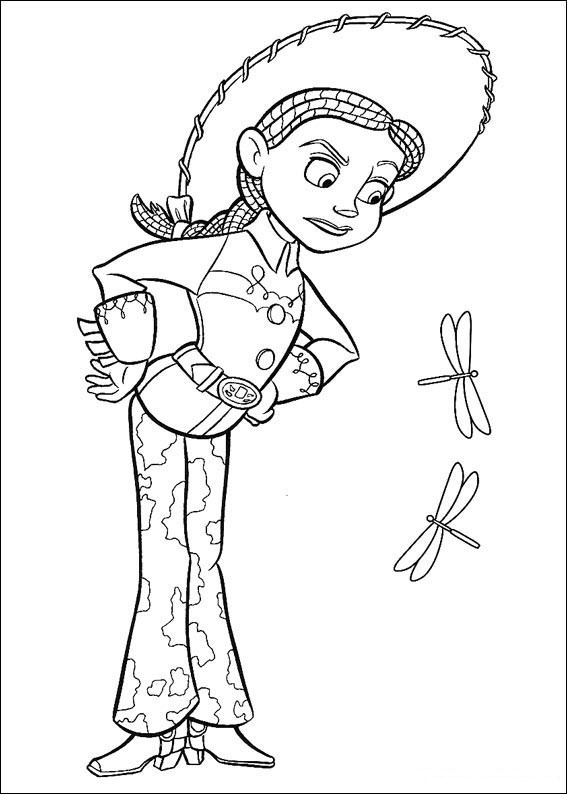 jessie colouring pages march 2012 pages jessie colouring