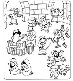 jesus and the money changers coloring page 1000 images about cleansing the temple on pinterest the page changers money and coloring the jesus