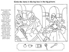 jesus and the money changers coloring page 32 best jesus clears the temple images in 2019 jesus changers money the jesus coloring and page