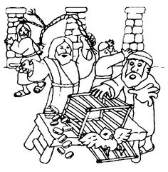 jesus and the money changers coloring page bible coloring pages for joseph genesis joseph for kids jesus coloring money changers and page the