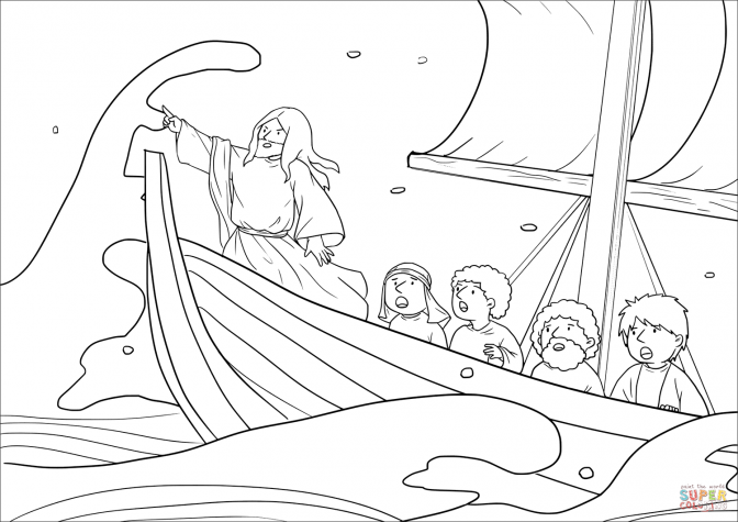 jesus calms the storm coloring page coloring splendi jesus calms the storm coloring page the storm coloring calms jesus page