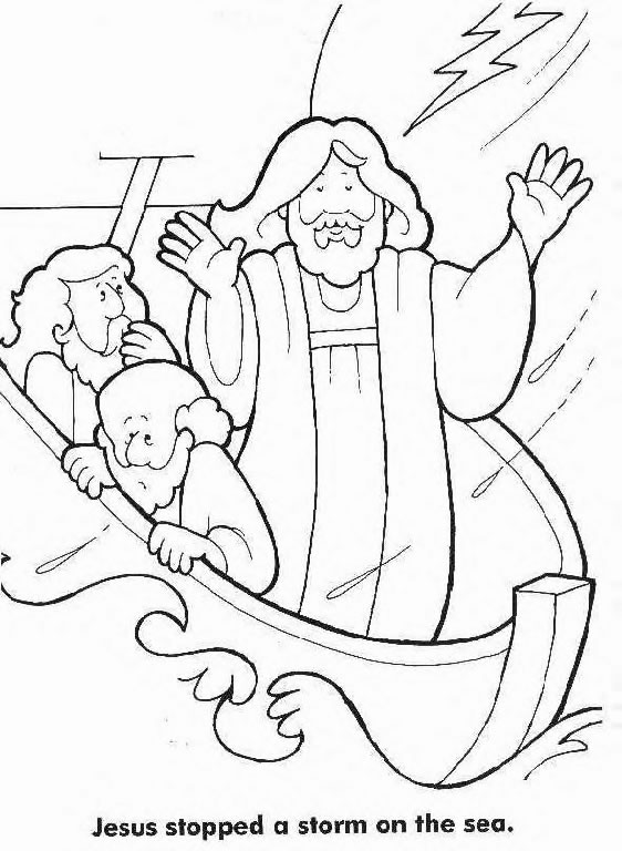jesus calms the storm coloring page free printable jesus coloring pages for kids cool2bkids storm page jesus coloring calms the
