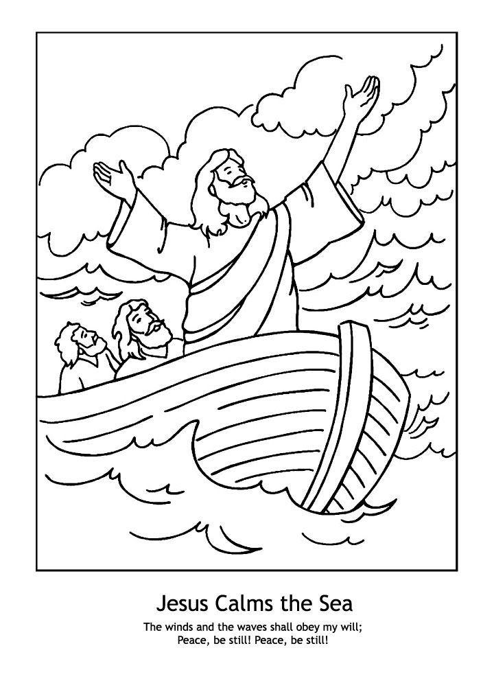 jesus calms the storm coloring page jesus calms the storm mark 435 41 coloring page free jesus calms the coloring storm page