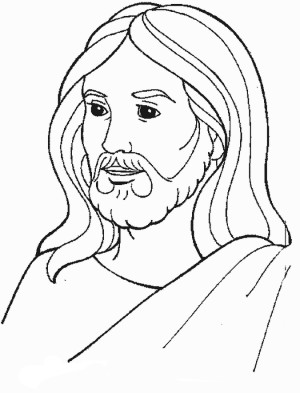 jesus coloring page cartoon jesus coloring page free printable coloring pages coloring page jesus