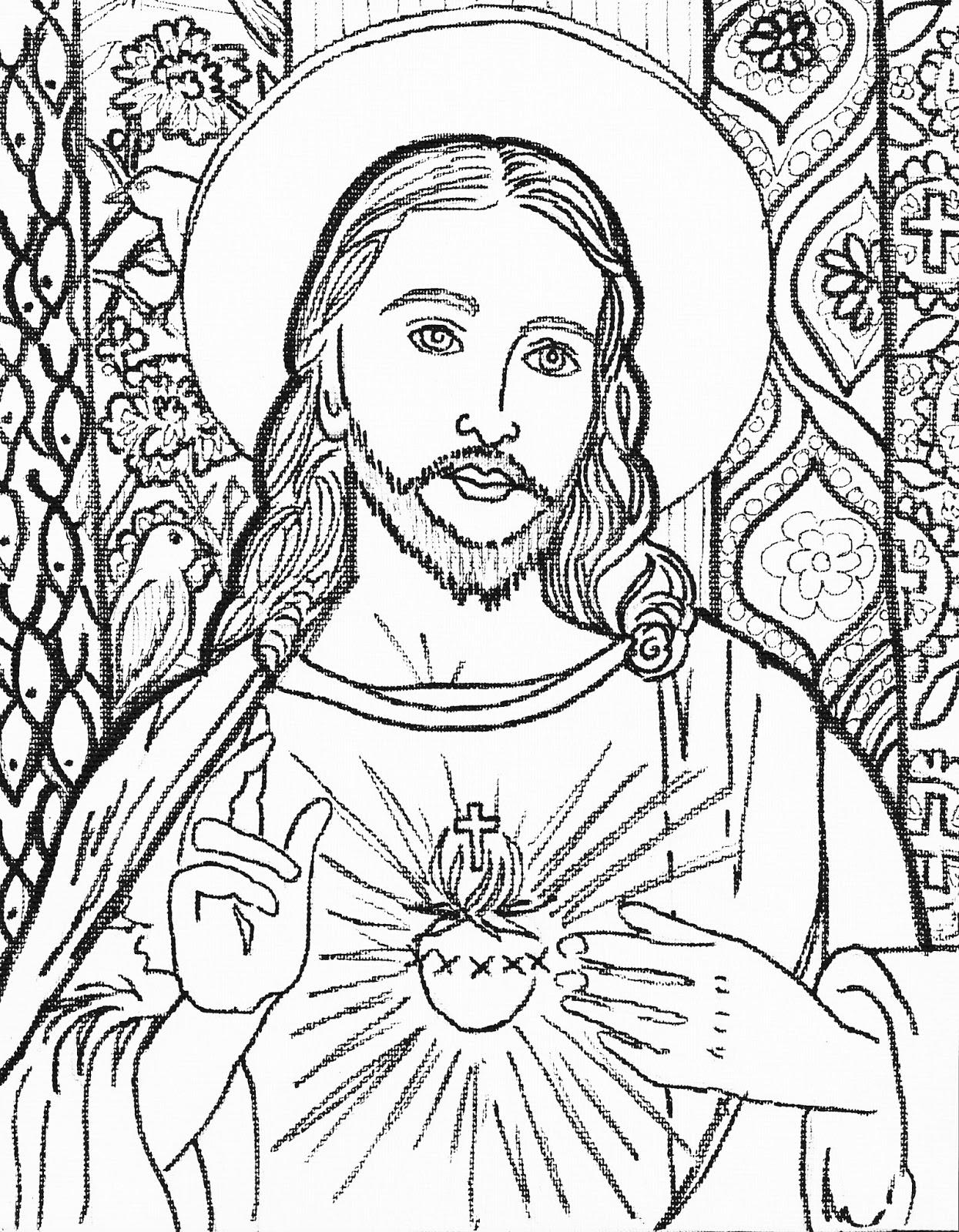 jesus coloring page free printable jesus coloring pages for kids cool2bkids jesus coloring page