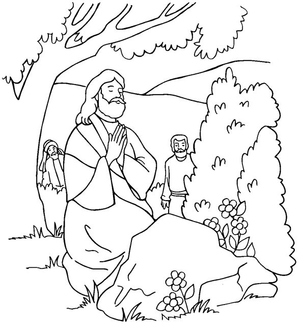 jesus in the garden of gethsemane coloring page gethsemane jesus clipart 20 free cliparts download in gethsemane the page of garden jesus coloring