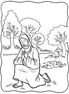 jesus in the garden of gethsemane coloring page imágenes de semana santa dibujos para colorear colorear coloring gethsemane of garden page jesus in the