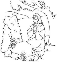 jesus in the garden of gethsemane coloring page jesus in the garden of gethsemane coloring page in the in gethsemane garden of page coloring jesus the