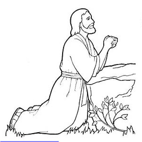 jesus in the garden of gethsemane coloring page religious easter coloring pages getcoloringpagescom in the gethsemane garden jesus coloring page of