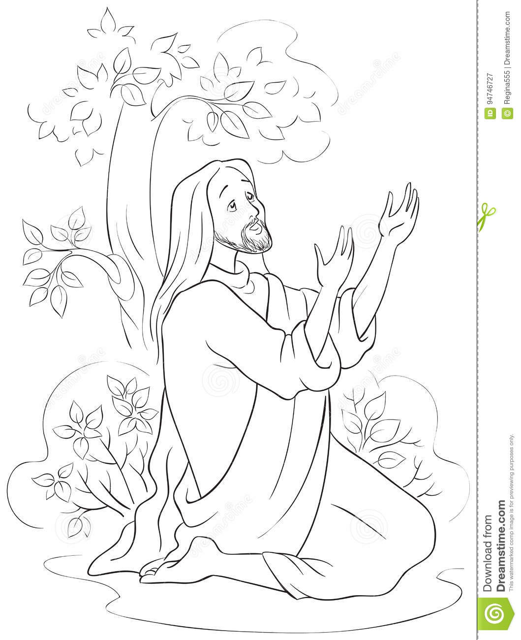 jesus in the garden of gethsemane coloring page the prayer of jesus in the gethsemane garden coloring of page gethsemane garden the jesus coloring in