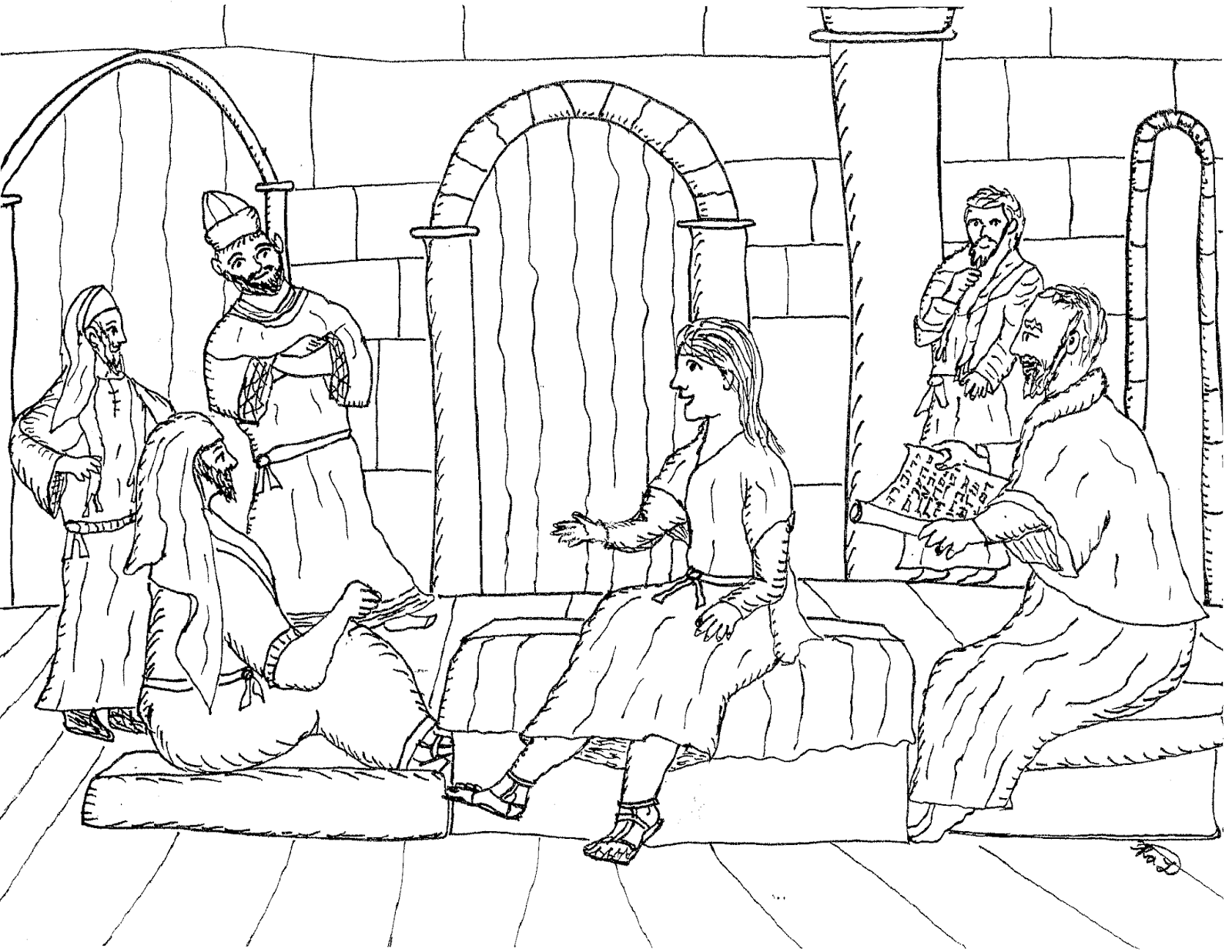 jesus in the temple coloring page 19 best images about jesus in the temple on pinterest page temple in jesus the coloring