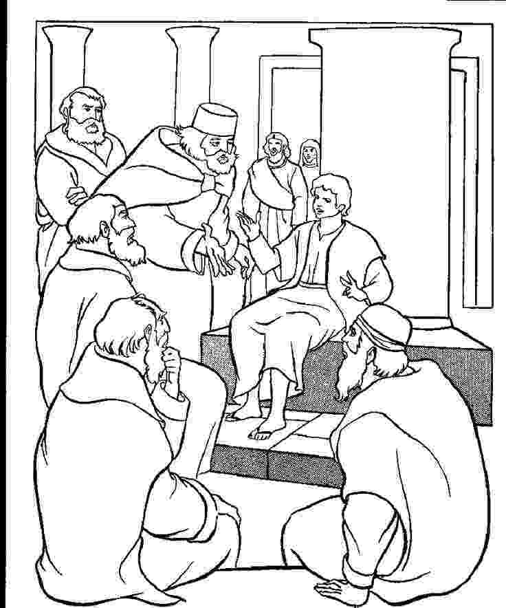 jesus in the temple coloring page boyjesustemplegif 8501022 pixels wednesday night coloring the in jesus temple page