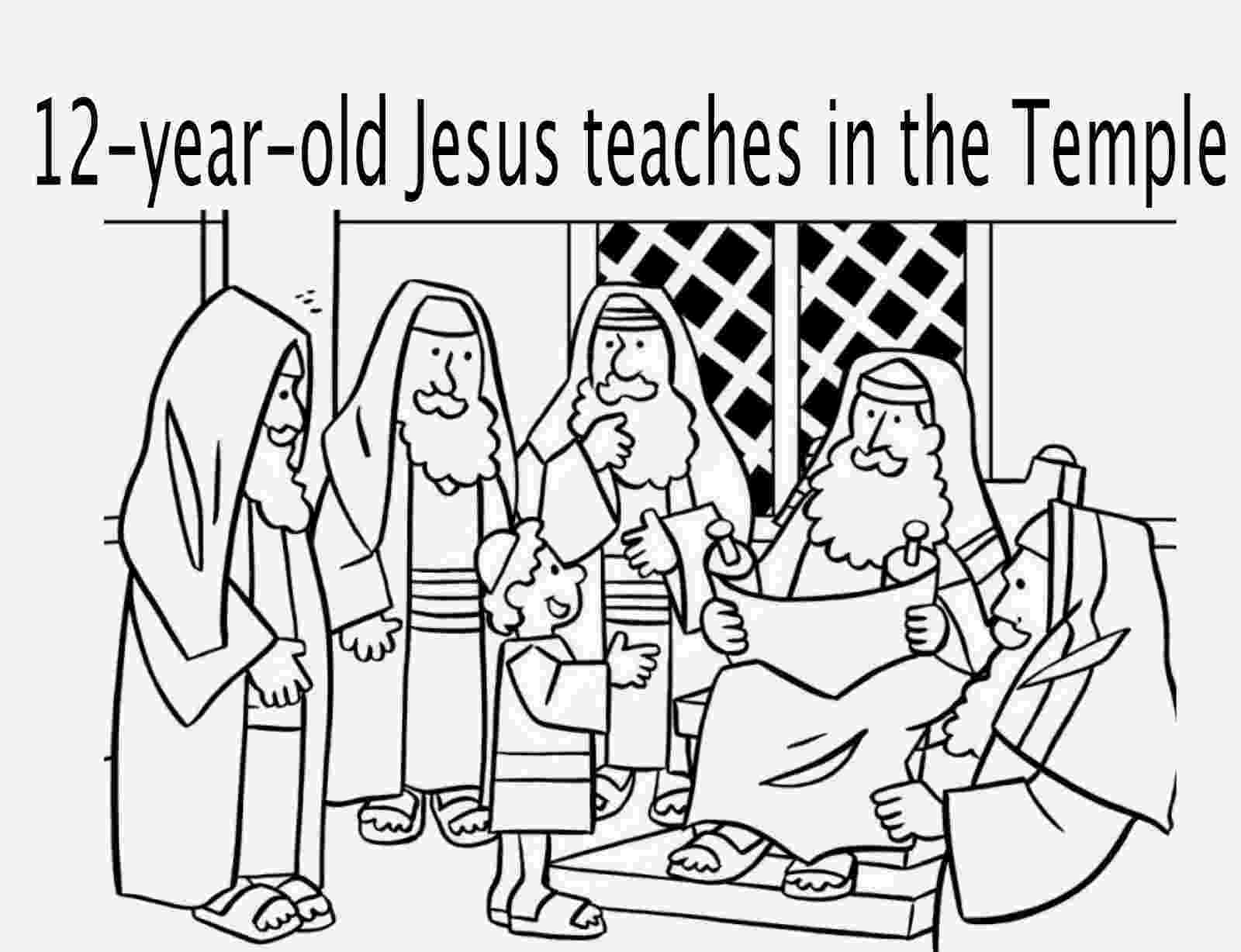 jesus in the temple coloring page jesus in the temple coloring pages 3 pinterest the in jesus page coloring temple
