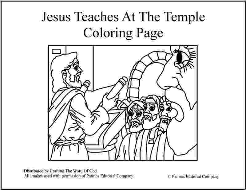 jesus in the temple coloring page jesus teaches at the temple coloring page crafting the jesus temple in page the coloring