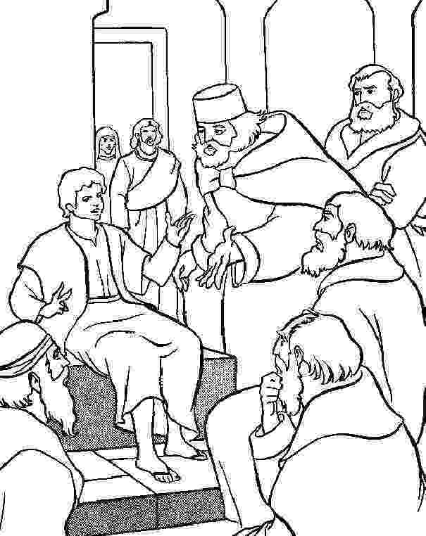jesus in the temple coloring page sunday school fun january 2015 the jesus page in temple coloring