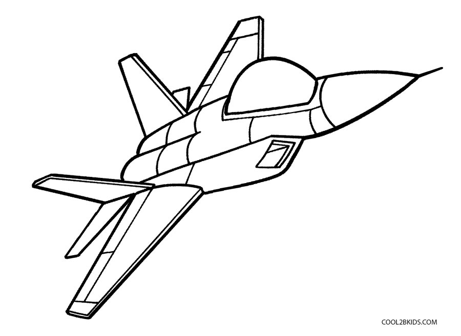 jet pictures to print free printable airplane coloring pages for kids cool2bkids to pictures jet print