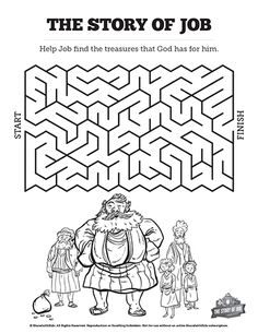 job bible story coloring page 25 best bible job images in 2019 sunday school lessons story coloring page bible job