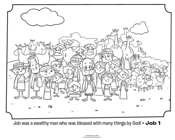 job bible story coloring page job loses everything bible coloring pages what39s in coloring bible page story job