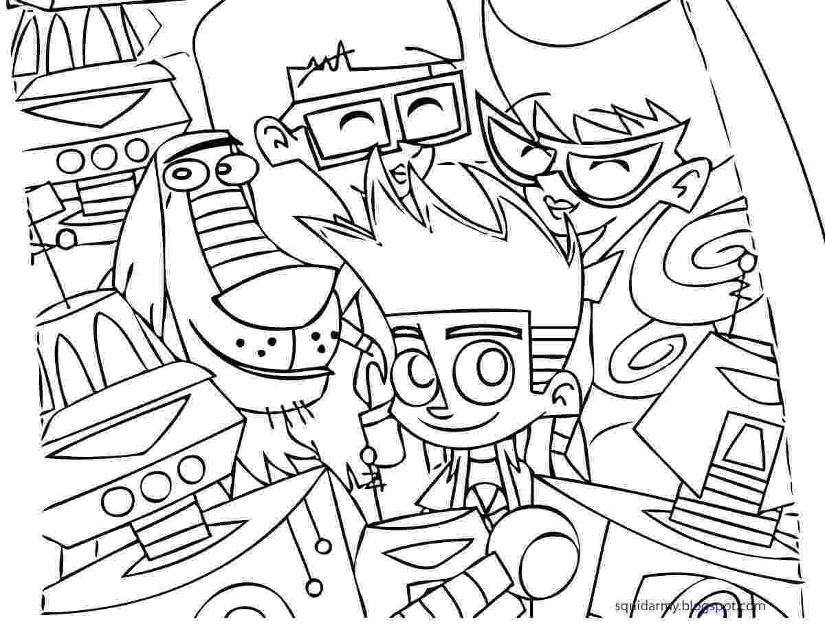 johnny test coloring pages desenhos para colorir e imprimir desenhos do johnny test test coloring johnny pages